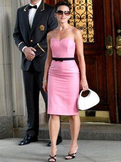 Kristin Davis Dress!