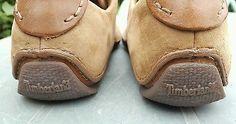 Timberland Brown Tan Nubuck Leather Lace Up Shoes Size UK 5, EU 38