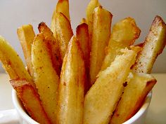 Pressure Cooker Recipes:  Pressure Cooker French Fries Recipe by ePressureCooker.com.  While you shouldn't fry in a pressure cooker, you can use your pressure cooker (and a secret ingredient) to help improve your fried potatoes.  Your french fries will be soft and hot on the inside, crisp and crunchy on the outside, even at room temperature.