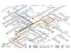 Stuttgart public transport map Public Transportation Maps and Trip