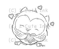 digital stamp images free   Owl You Need Is Love Digital Stamp