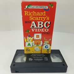 Richard Scarry's Best ABC Video Ever! VHS Format 1989 Play Tested Busytown