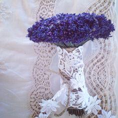 Bridal Bouquet  Fresh Levander