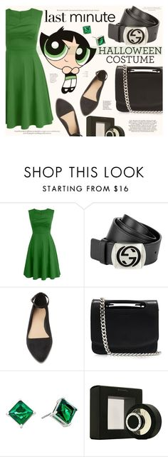 """""""Last-Minute Halloween Costume"""" by katarina-blagojevic ❤ liked on Polyvore featuring Gucci, Forever 21, Jil Sander, Lauren Ralph Lauren and Bulgari"""