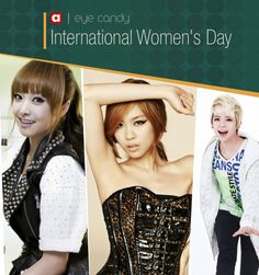 Eye Candy: International Women's Day