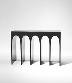/// Console by Hervé Van der Straeten. Adding a bit of gothic architectural elements to a room