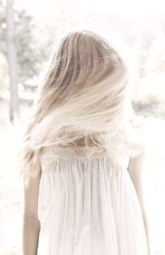 Sunshine & Springtime / #girl #white #dress {Follow @poppybarley on Twitter & Instagram, too}