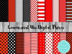 Ladybug Digital Papers Instant Download by MagicalStudio on Etsy