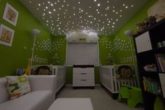 Super cute twins room