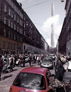 Vertical Graveyards | Martin McSherry | Archinect