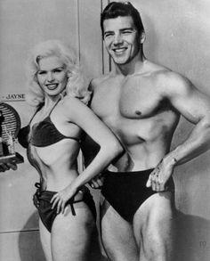 Flawless Jayne Mansfield and Mickey Hargitay in 1959.