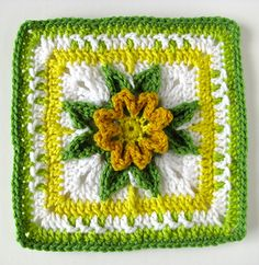 Jacindith Crochet Square