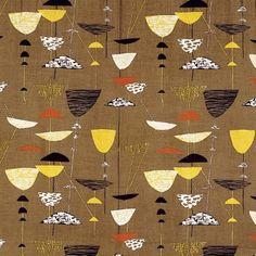 Calyx, furnishing textile, 1951