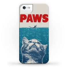 PAWS (JAWS Parody) Iphone Case Phonecase
