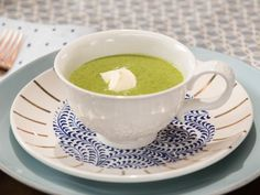Get Warm Arugula Vichyssois Recipe from Food Network