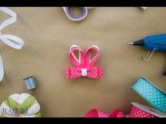 Bunny Ears Bow Clippie Tutorial | Ribbon And Bows Oh My!