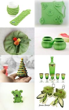 Christmas greens by decoratore on Etsy--Pinned with TreasuryPin.com