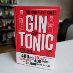 The ultimate book for gin lovers, filled with over 400 gins from classics to new and over 50 tonics spread across 400 pages! It'll quickly become your go-to guide when wanting to know more about your favourites and new brands. Gin Lovers, Gin And Tonic, Guide Book, My Books, My Love, Gift, Shop, Gifts, Store