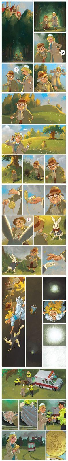 Awe! I cried.