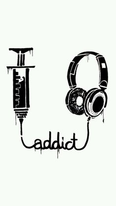 My addiction is not drugs. My addiction is music Iphone 5s, Best Iphone, Musik Wallpaper, Emo Wallpaper, Instruments, All About Music, Music Tattoos, Music Is Life, Music Is Art