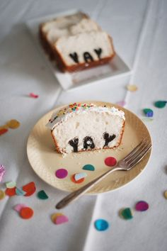 DIY: YAY (or any letters) Birthday Cake