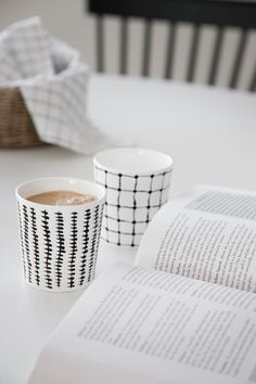 I obviously want those black and white mugs.