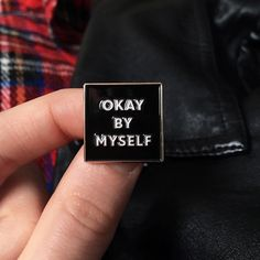 #Repost @lifeclubuk  NEW RELEASE Okay by myself and I don't need you. Available now - link to store in bio xo #okaybymyself #myself #dontneedyou #pingame #pin #pinstagram #pingamestrong #lapelpin #lapelpins #enamelpin #enamelpins #pins #flair #flairgame #pinsandpatches #patch #patchgame #patchgamestrong #pincollection #type #typography #independent #okay #pinoftheday #accessories #loner #nofriends #antisocial    (Posted by https://bbllowwnn.com/) Tap the photo for purchase info. Follow…
