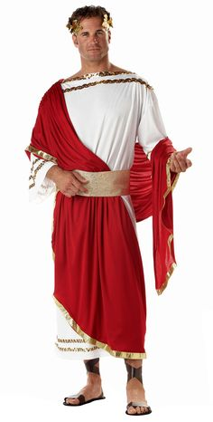 Julius Caesar Adult Costume - Greek and Roman Costumes