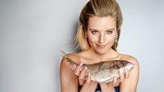 vis en vrouw