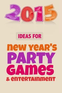 Ideas for New Years party games and entertainment ideas.