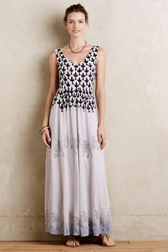 NWT ANTHROPOLOGIE by FLOREAT SOJOURNER PRINTED MAXI DRESS 6 #Floreat #Maxi #Casual