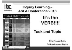 inquiry-learning-the-critical-role-of-the-well-resourced-library by Australian School Library Association via Slideshare