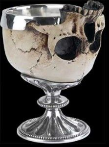 Schol zeggen wij... Skull, we say when we bring out a toast to drink in company of friends...