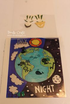 Doodle Craft...: The Creation Lesson Bible Story Visual Aid