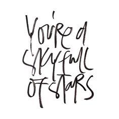 a sky full of stars//