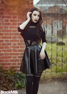 Model: Threnody In Velvet Clothing: Black Milk Clothing