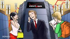 The largest US wireless telecommunications company, Verizon Communications Inc. (VZ), has maintained a dominant position in the industry Verizon Communications, Holding Company, Investing, Business, Store, Business Illustration