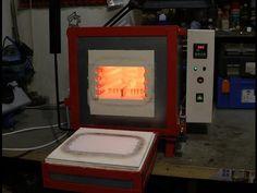 Handmade electric Heat Treating Oven for Knives - Pec na kalení nožů