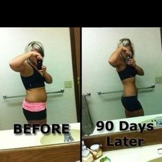 90 day challenge from Visalus go to www.tracymcelroy.bodybyvi.com real people real results...
