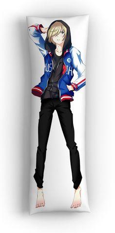 "Подушка-дакимакура ""Юрий Плисецкий"" / Pillow dakimakura ""Yuri Plisetsky"" - Подушки купить в аниме интернет-магазине Fast Anime Studio"