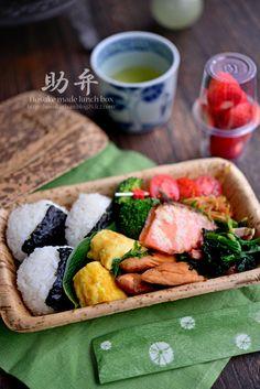 「助弁 - 鮭弁当」 - 花ヲツマミニ