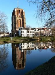Leeuwarden, The Netherlands, a tranquil small town at the northern-most tip of the Netherlands.