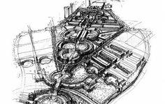 Antigone District in Montpellier, France  --  Ricardo Bofill Taller de Arquitectura --
