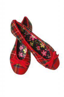 Tartan Flat Shoes, Stewart Royal