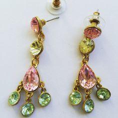 sorbet earrings handmade from Candy Spender Jewels  http://www.candyspender.com.au