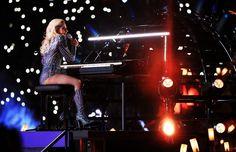 Lady Gaga's Hair At Super Bowl 51 Deserves Some Sort Of Award