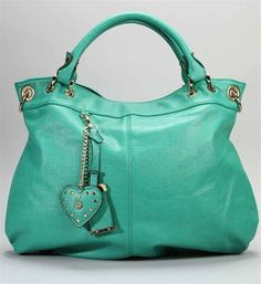 Teal Oversized Handbag - cute for summer! #teal #summer