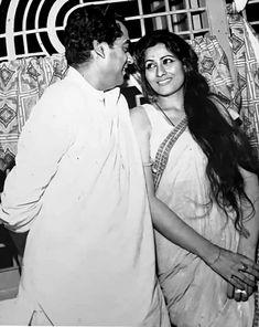 Kishore Kumar, Film World, Old Actress, Film Director, Candid, Real Life, Bollywood, Singer, Actresses