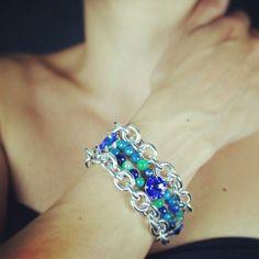 #Brazalet. #Jewelry #Schmuck #gioielli #bijoux. Divina Locura. Colección Dolce Suono. #Pulsera COSI FAN TUTTE.