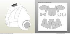 Papercraft .pdo file template for Iron Man - MK III Full Armor +FOAM+.